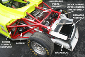 SRF Front Chassis Detail